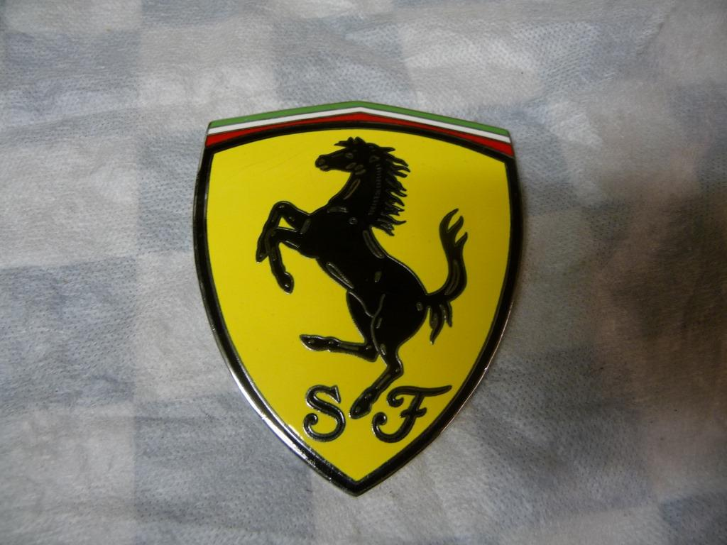 Ferrari 458 California Fender Shield Badge Front Fender Emblem 82746100 OEM B+