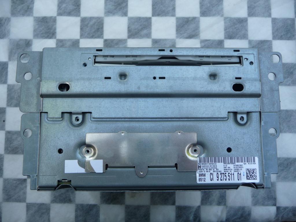BMW X3 Navigation CD Player Radio Receiver 65129275511 OEM A1
