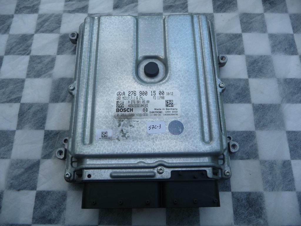 Mercedes Benz E Class ECM Engine Control Module A2769001500 OEM A1