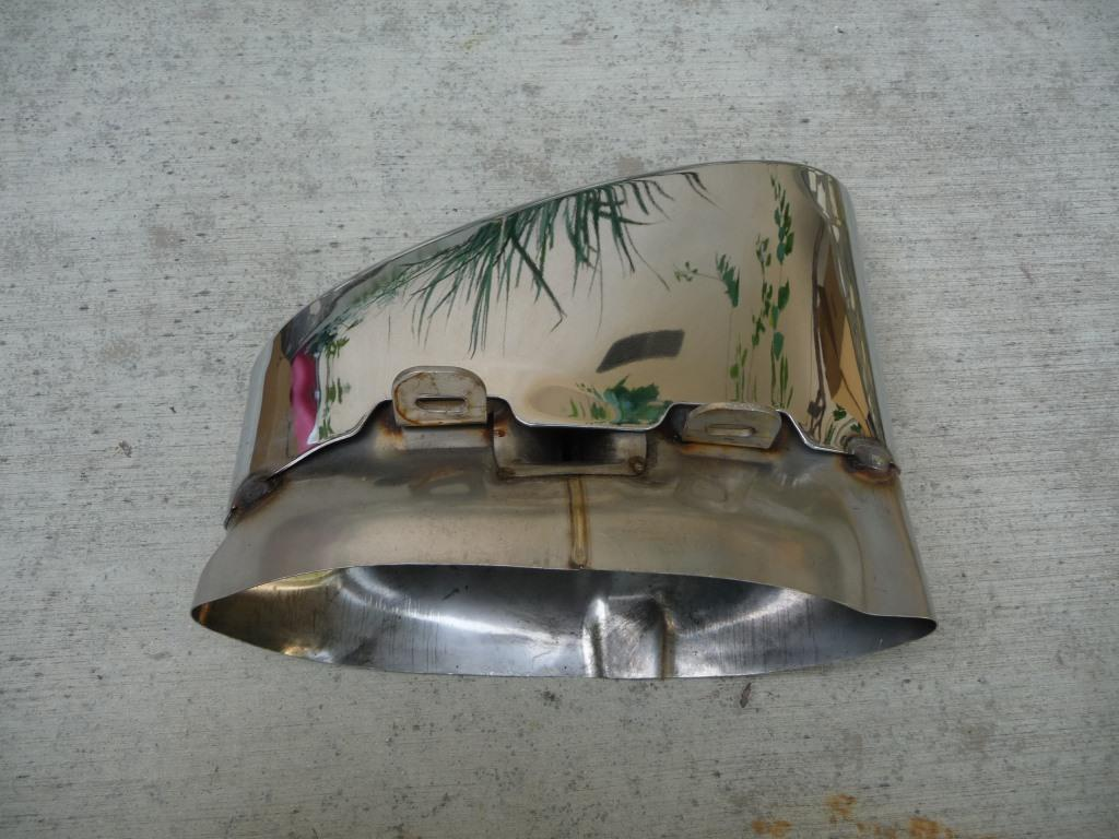 Bentley Continental Supersports RH Exhaust Tailpipe Finisher 3W8253682A OEM A1