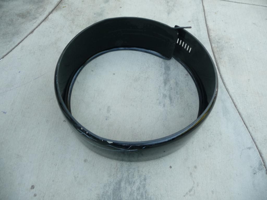 Mercedes Benz G Wagon W463 Spare Autotech Wheel Black Cover 4638906708