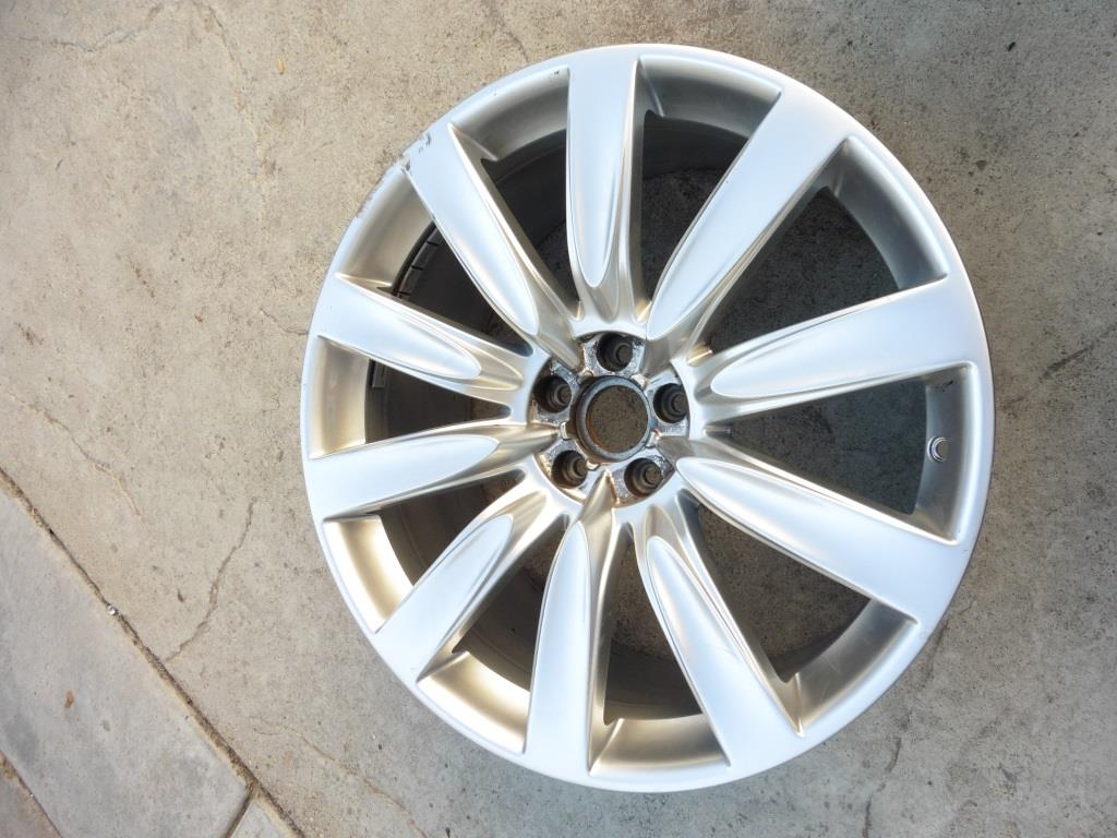 Bentley Continental GT GTC 21 x 9.5 Wheel Rim 3W0601025EE OEM A1