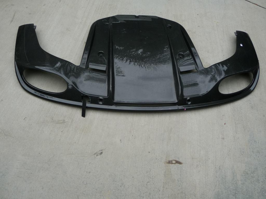 Bentley Continental GT Mulliner Style Carbon Fiber Rear Under Cover 3W8071611 OE