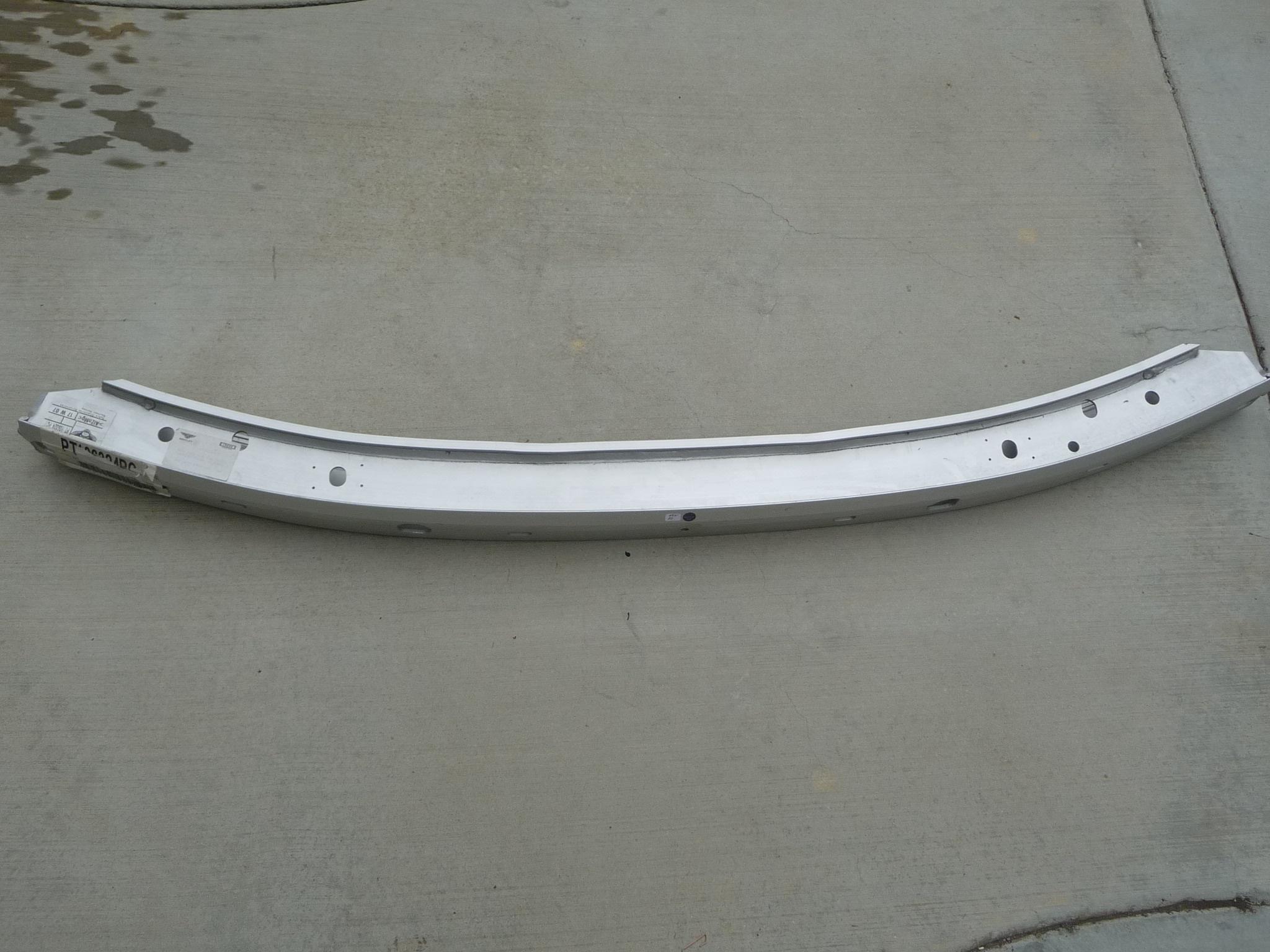 Bentley Arnage Front Bumper Reinforcement Impact Support Bar PT106324PC OEM