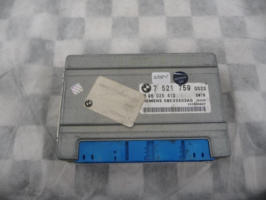 BMW 3 Series X5 Z3 Transmission Control Module 24607521759 OEM A1