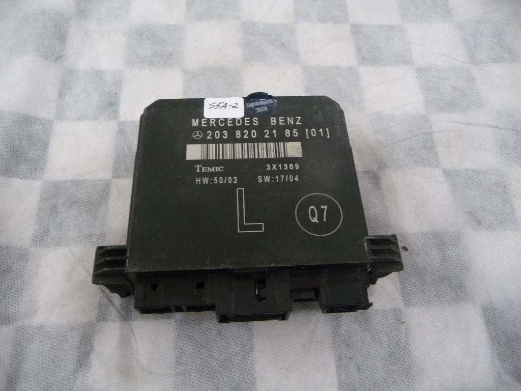 Mercedes Benz C Class Rear Left Driver Door Control Module 2038202185 OEM A1
