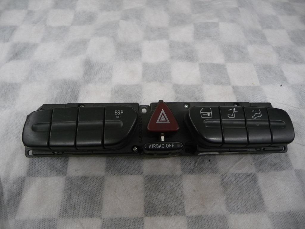 2003 2004 Mercedes Benz CLK320 CLK500 Dash Hazard Switch ESP 2038215058 OEM A1