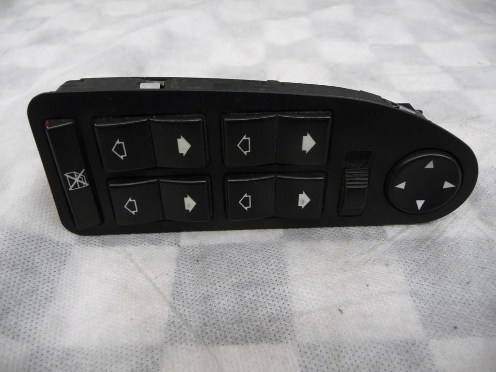 BMW 5 7 Series Left Driver Door Window Switch 61316904306 OEM A1
