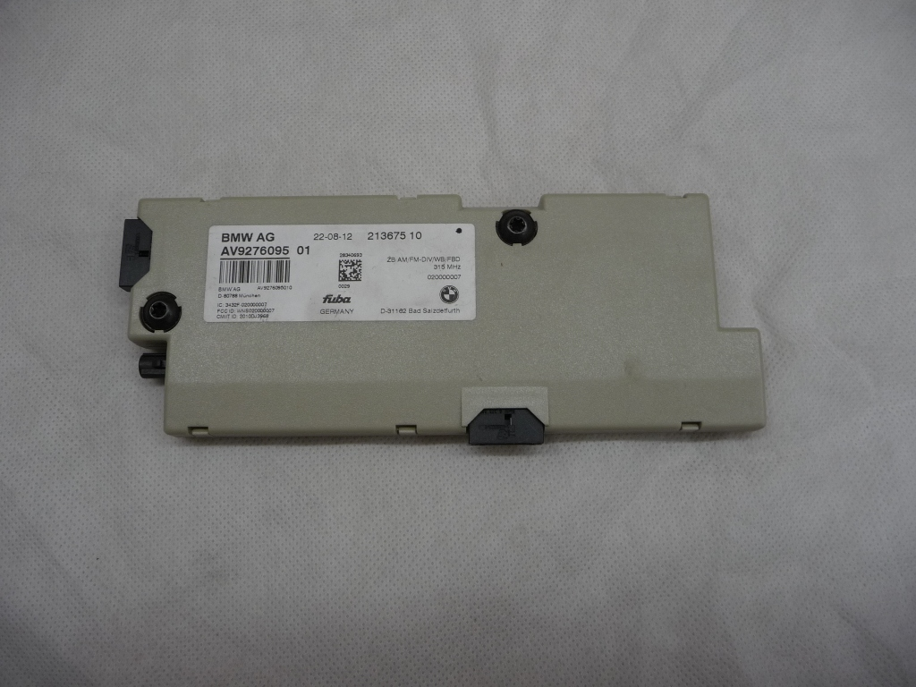 2010 2011 2012 2013 2014 2015 2016 BMW 5 6 7 Series Antenna Amplifier Diversity 315 MHZ 65209276095 OEM OE