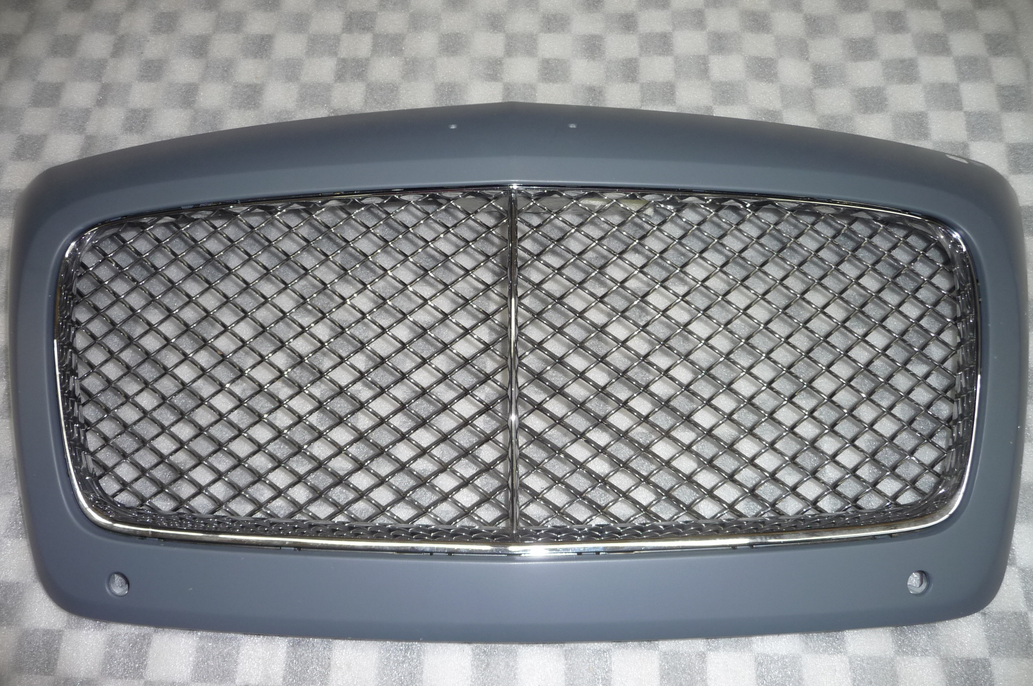 Bentley Continental GTC GT Front Grille Grill Cover Complete 3W3853653F H1 OEM