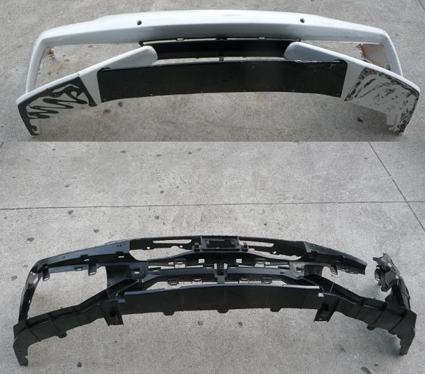 Lamborghini Huracan LP610 Front Bumper Cover with Bracket 4T0807103C For Parts