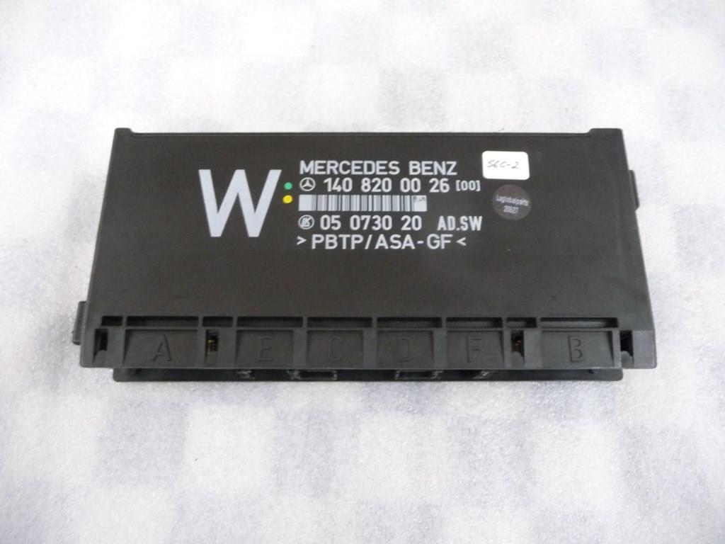 Mercedes Benz S Class Comfort Control Module 1408200026 OEM A1