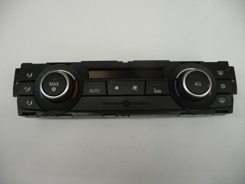 2010 2011 2012 2013 BMW E92 E93 328i 335i Automatic Heater and Air Conditioning AC Control Unit, Perlglanz Chrome 64119242412 OEM OE