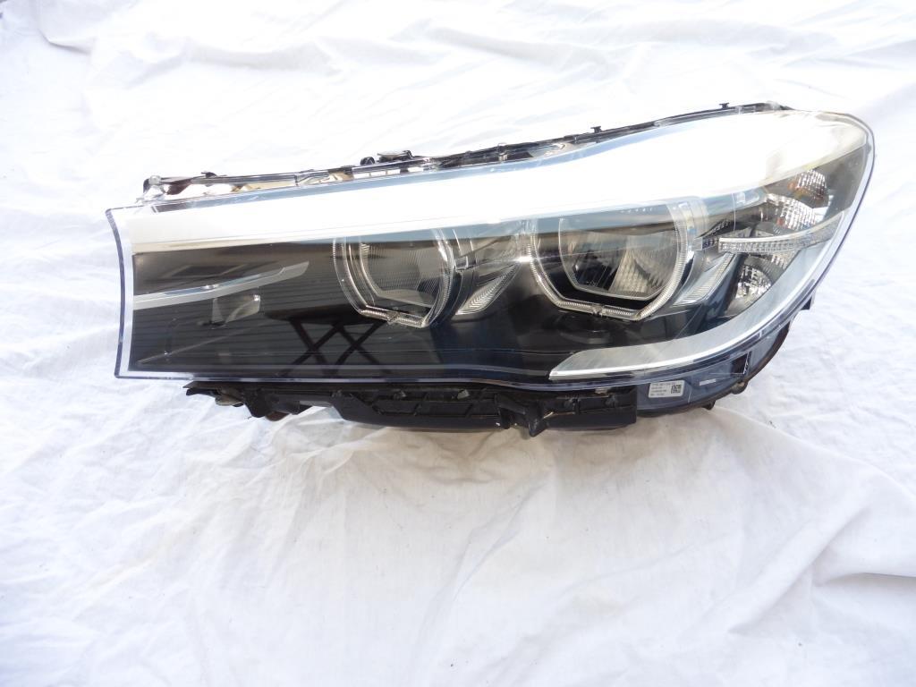 2016 - 2017 BMW 7 Series G11 Left Driver LED Headlight Bare 63117408711 OEM OE