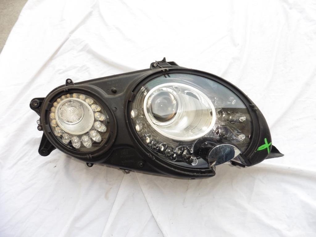2016 2017 Bentley Continental GT GTC Right Xenon HID Headlight Black 3W1941016BP For Parts