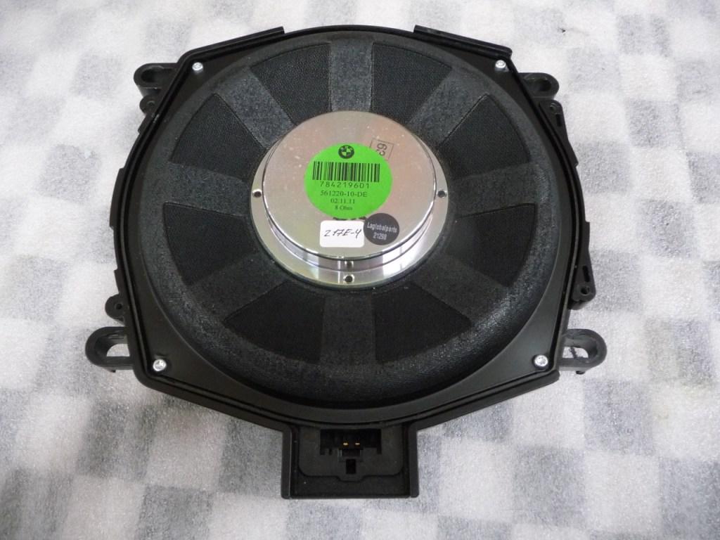 09-13 BMW X6 Center Bass subwoofer, Individual Audio speaker 65137842196 OEM A1