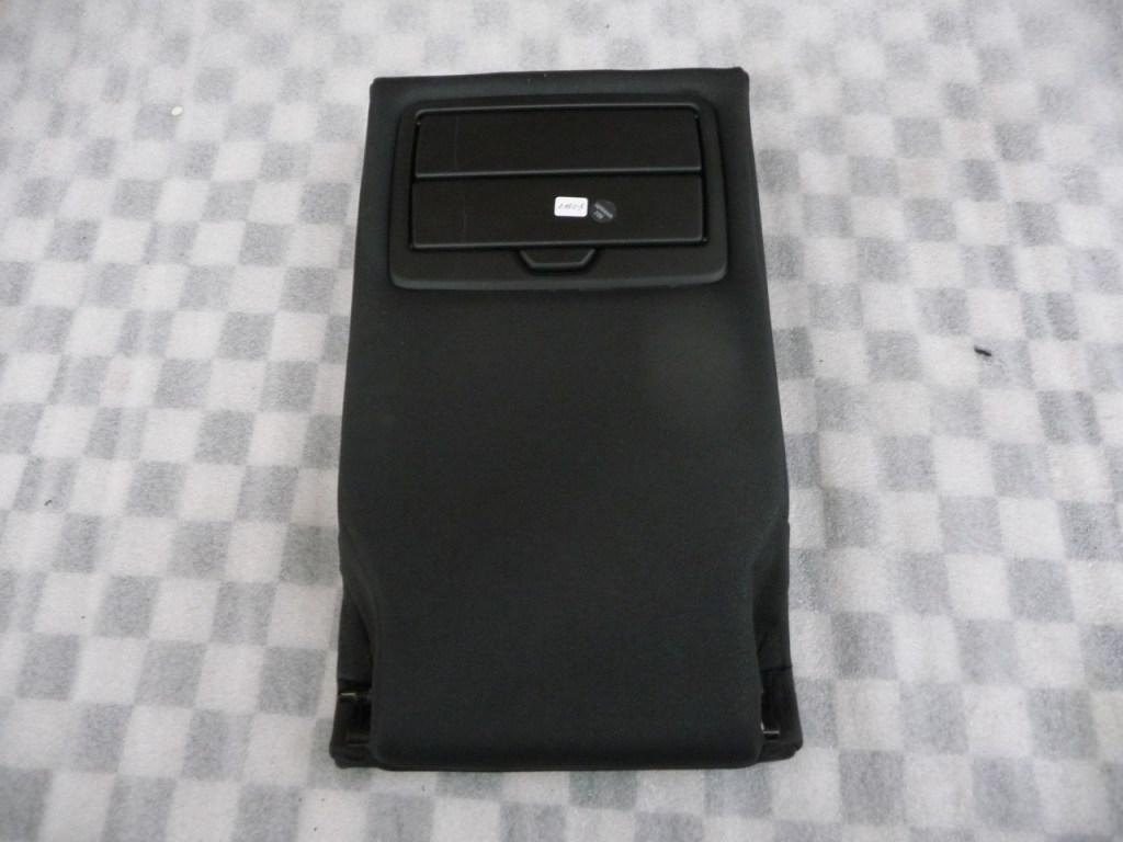 BMW X3 X4 Rear Seat Center Arm Rest Leather SCHWARZ 52207256251 OEM A1
