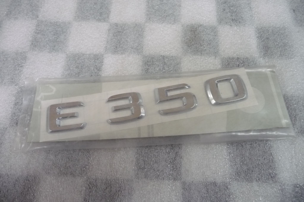Mercedes Benz E350 Rear Trunk Lid Emblem Badge Nameplate A2118170315 OEM A1