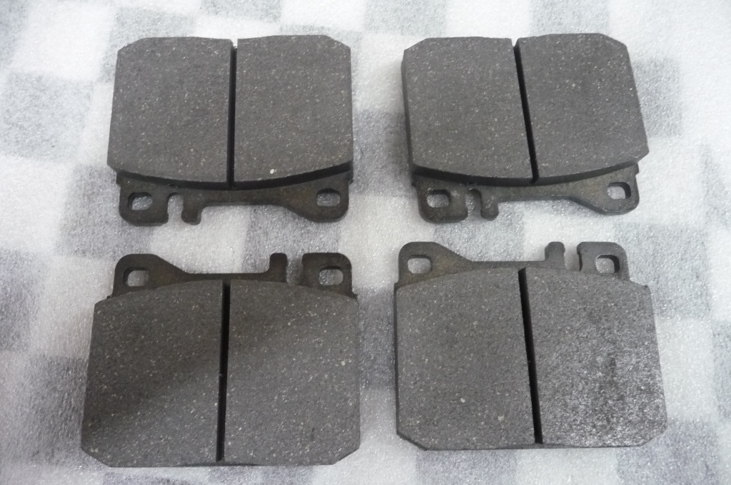 1973 1974 1975 1976 1977 1978 1979 1980 Mercedes Benz 240D 280E 300D 450SEL Set Of Brake Pads A0014207820 OEM A1