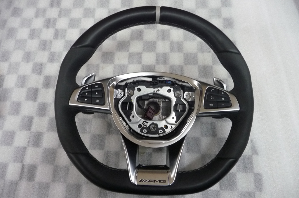 2015 2016 2017 Mercedes Benz CLS63 AMG S GLE63 AMG S Steering Wheel A1664601618 7M17 OEM A1