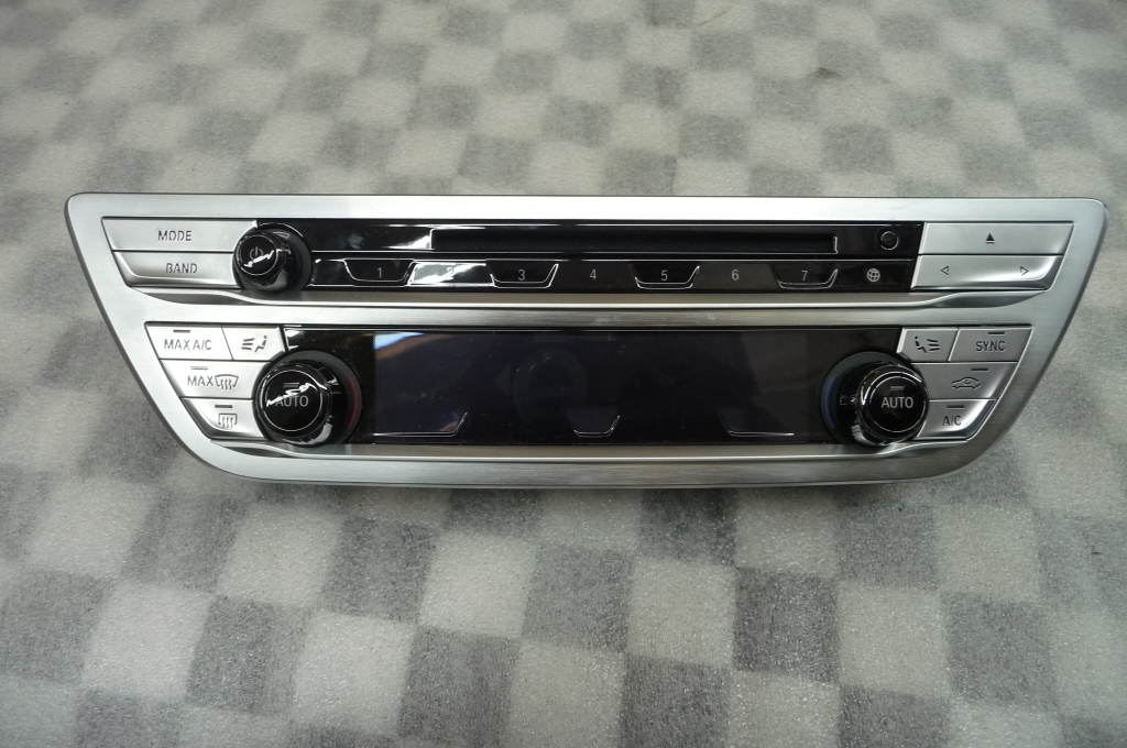 BMW 7 Series Radio And Climate Control Panel 61316993478 OEM A1