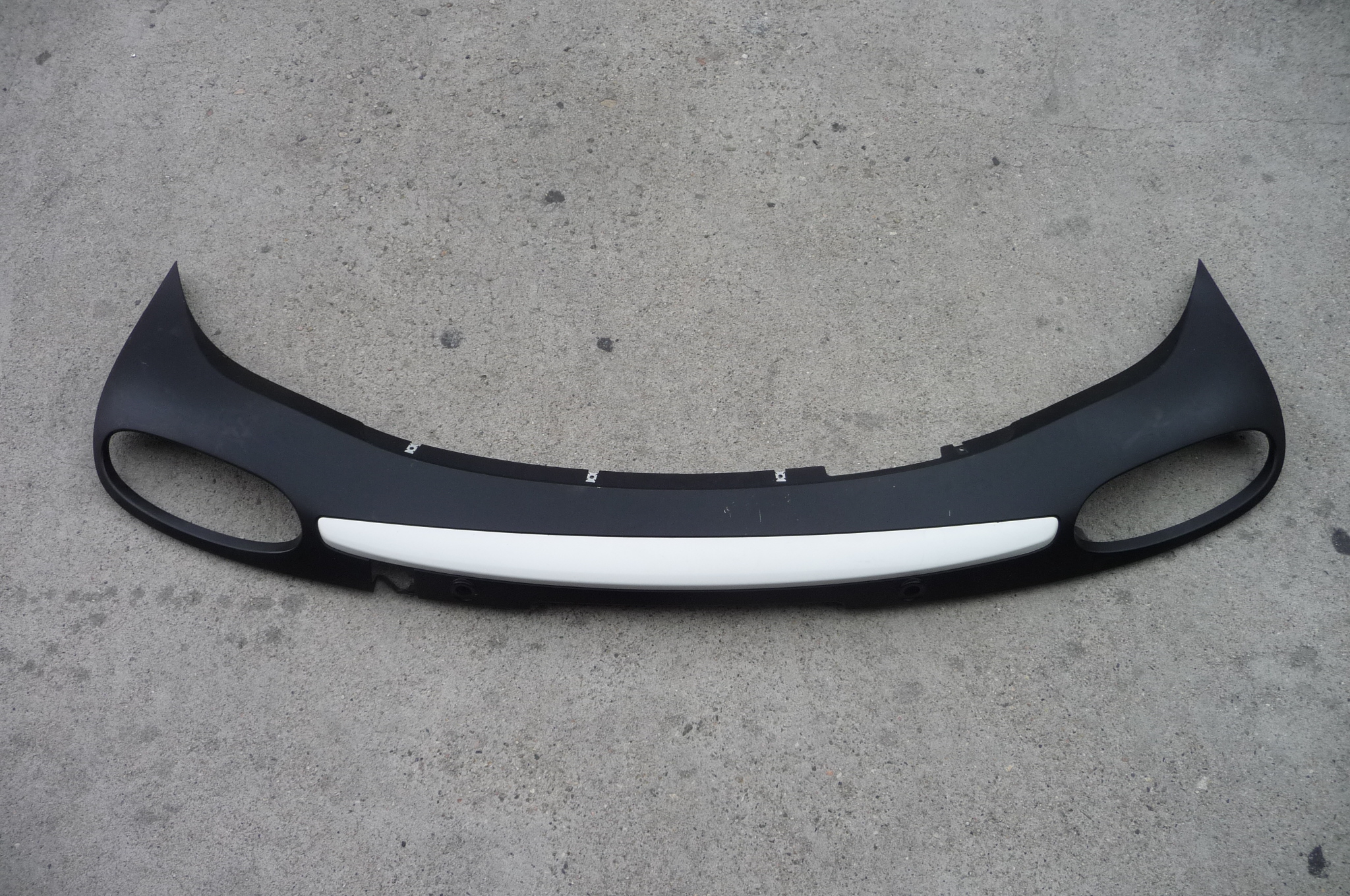 2012 2013 Bentley Continental GT GTC Rear Bumper Molding Cover Grille Skirt Wht  - Used Auto Parts Store   LA Global Parts