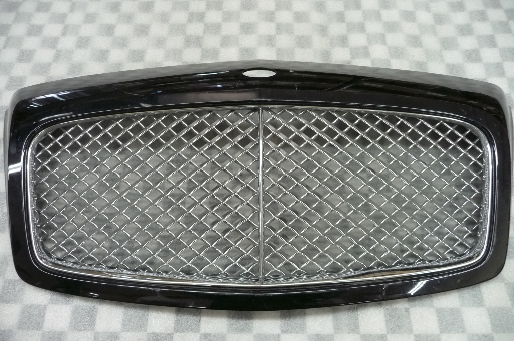 09 11 Bentley Continental GT GTC Flying Spur Front Radiator Grille 3W0853653E H1