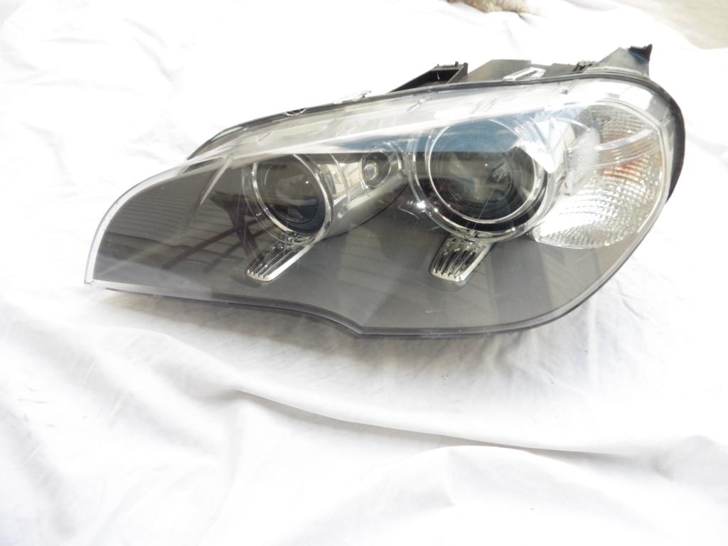 2011-2013 BMW X5 E70 LCI Left Driver Xenon AFS Bare Headlight 63127298451 For Parts