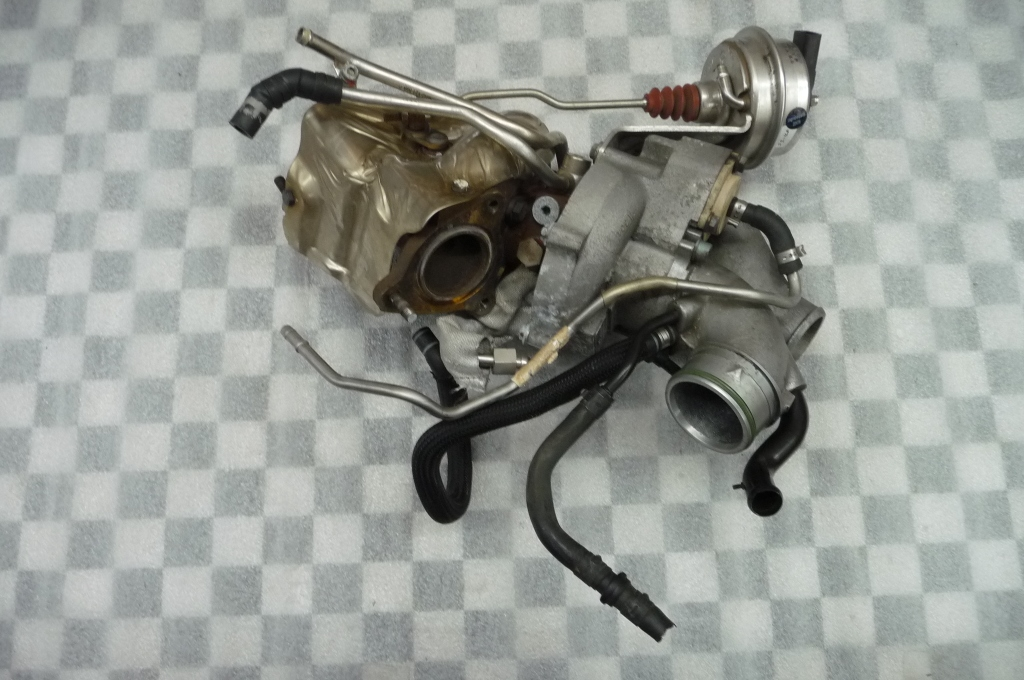 07-11 Bentley Continental GT GTC Right Engine Turbo Turbocharger 07C145061J OEM