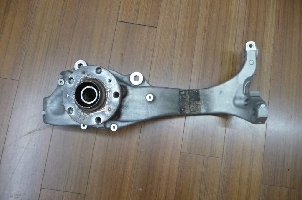 2012-2016 Bentley Continental GT GTC Steering Knuckle Right 3W0407258G OEM