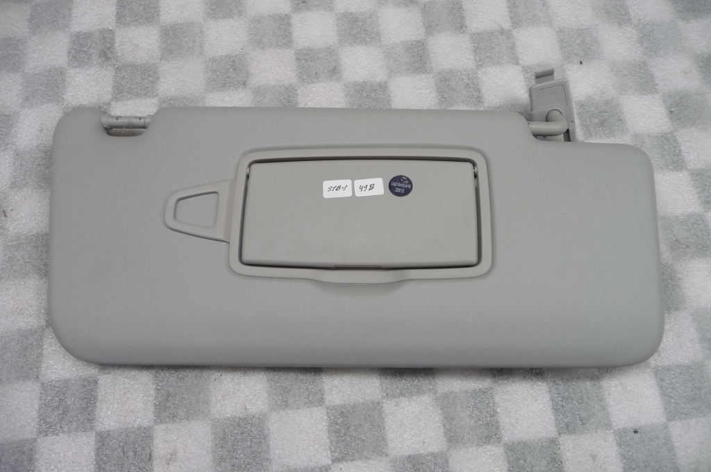12-17 Mercedes Benz GL GLE ML Class Right Sun Visor Gray A16681094007M90 OEM A1