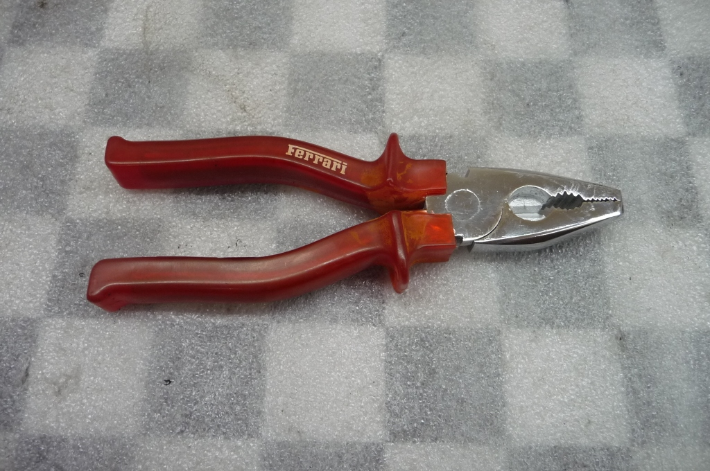 Ferrari 360 F430 458 Tool Kit Toolkit Plier Pliers Red Handle OEM OE