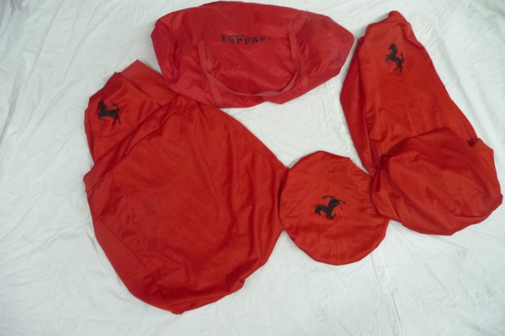 Ferrari F430 Indoor 2X Seat`s Steering Wheel Covers and Bag OEM OE