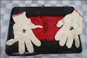 Ferrari F430 Tool Kit Gloves with Case Bag Fuses and Damaged Leather Case