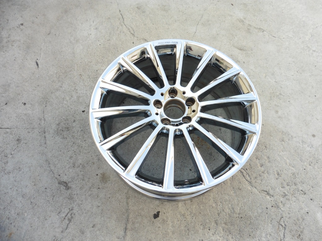"""2014 2015 2016 2017 Mercedes Benz W222 S550 S600 S63 AMG 20 x 8.5"""" Front Wheel Rim A2224010400 OEM OE"""