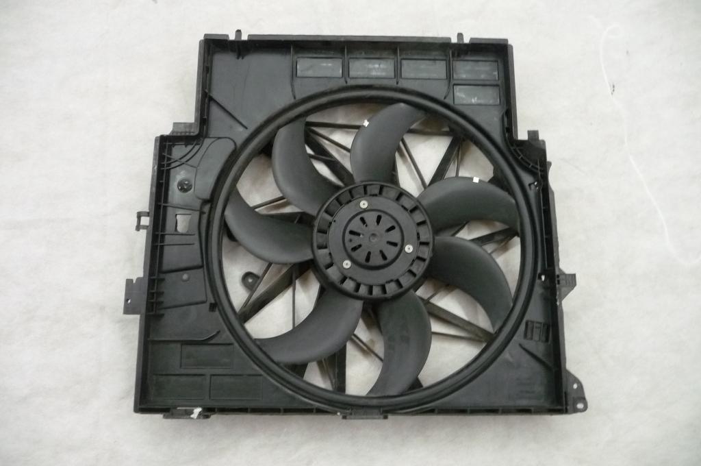 2011 2012 2013 2014 2015 2016 2017 BMW X3 X4 F25 F26 Radiator Cooling Fan Assembly 17427560877 OEM OE