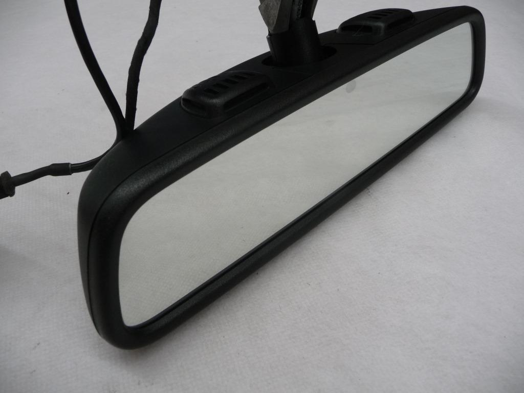 2014 2015 2016 2017 Mercedes Benz W222 C300 C350e GLC300 S550 S600 S63 AMG S65 AMG Interior Rear View Mirror, Black A2228100417 9051 OEM OE