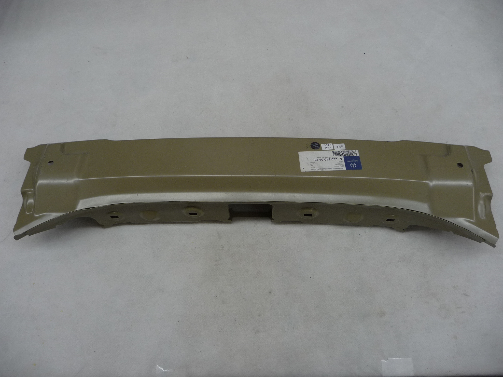 2003 2004 2005 2006 2007 2008 2009 2010 2011 2012 Mercedes Benz SL55 AMG SL500 SL600 Rear Body Outer Panel A2306400471 OEM OE