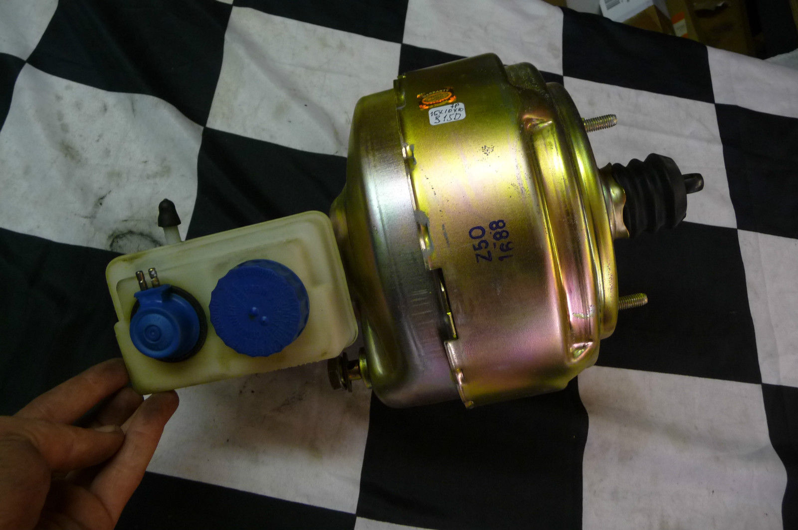 1987 1990 Ferrari Testarossa BRAKE BOOSTER 120928 OEM OE - Used Auto Parts Store | LA Global Parts