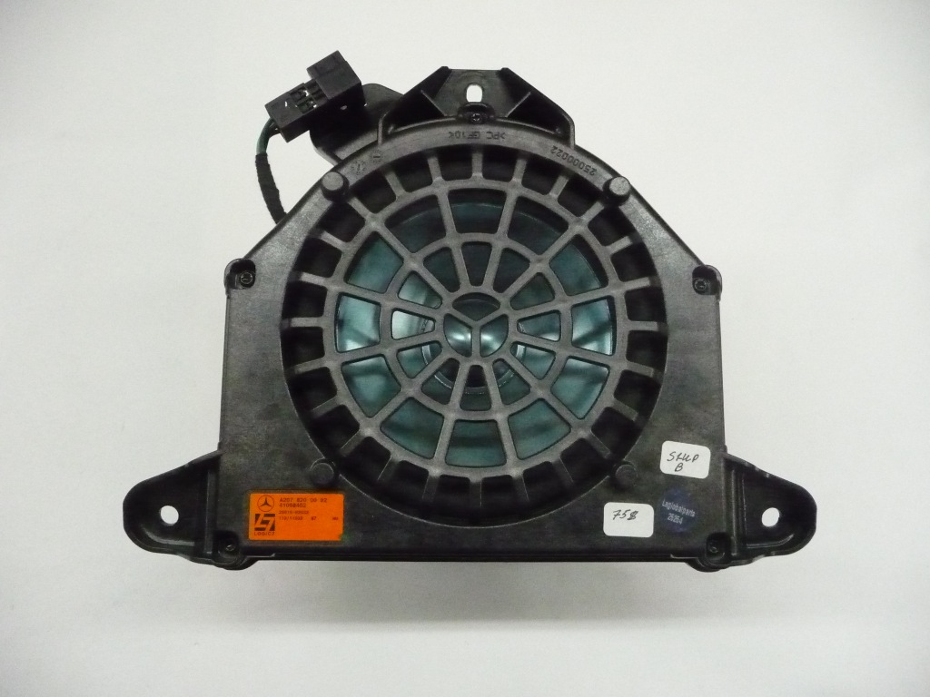 2011 2012 2013 2014 2015 2016 2017 Mercedes Benz E350 E400 E550 Logic 7 Sub Woofer Bass Speaker A2078200002 OEM OE