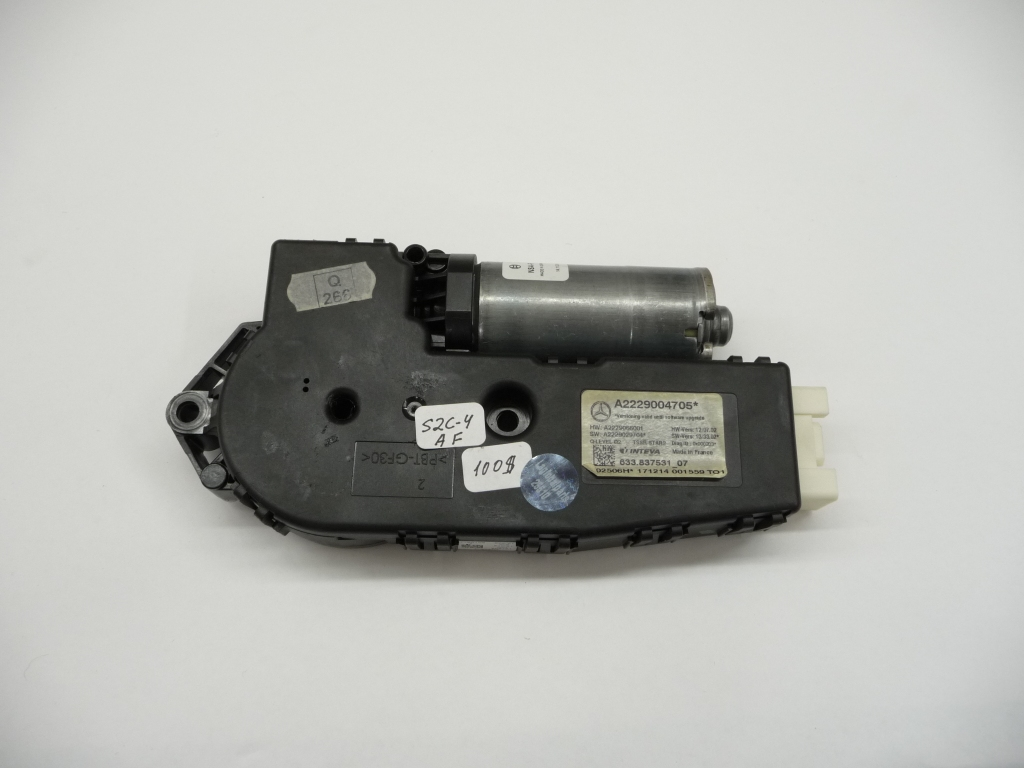 2014 2015 2016 Mercedes Benz W222 S550 S550e S600 Sunroof Sun Roof Motor A2229004705 OEM OE