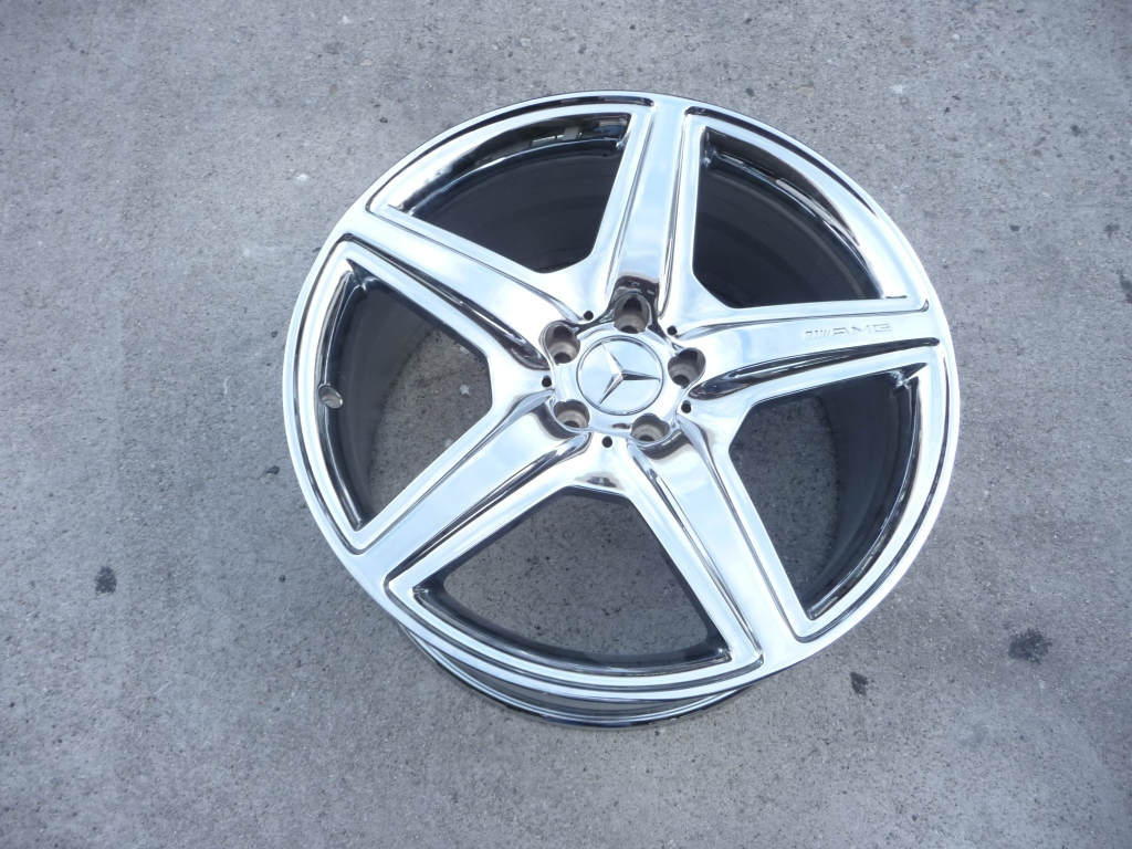 "2008 Mercedes Benz W221 S63 CLS63 AMG 20"" Rear Wheel Rim A2214013402 OEM A1"