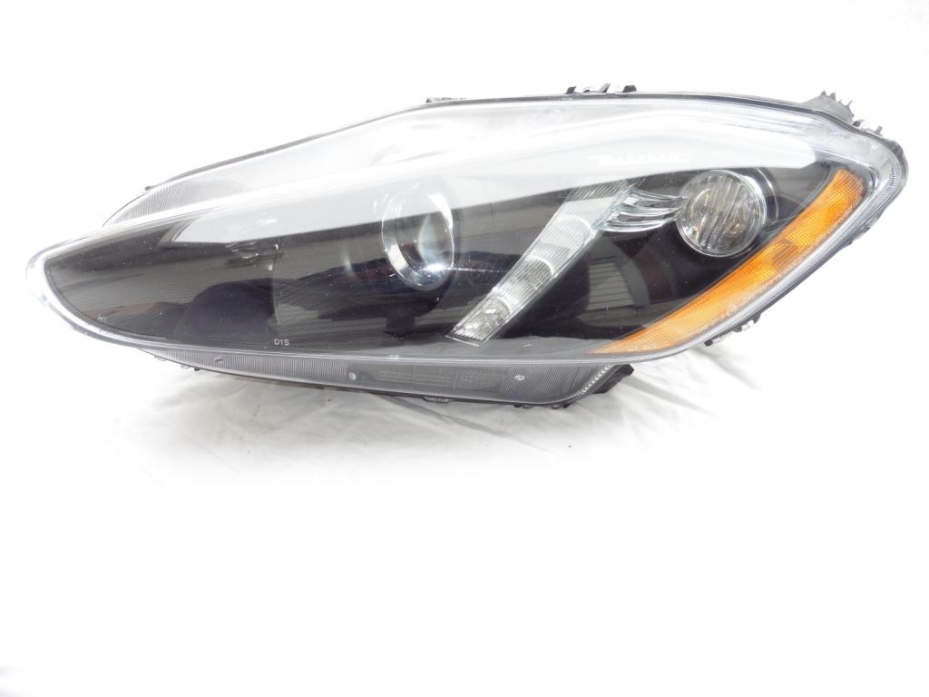 2013 2014 2015 2016 Maserati Granturismo GT Xenon HID Headlight Left Driver Headlamp 294587 For Part