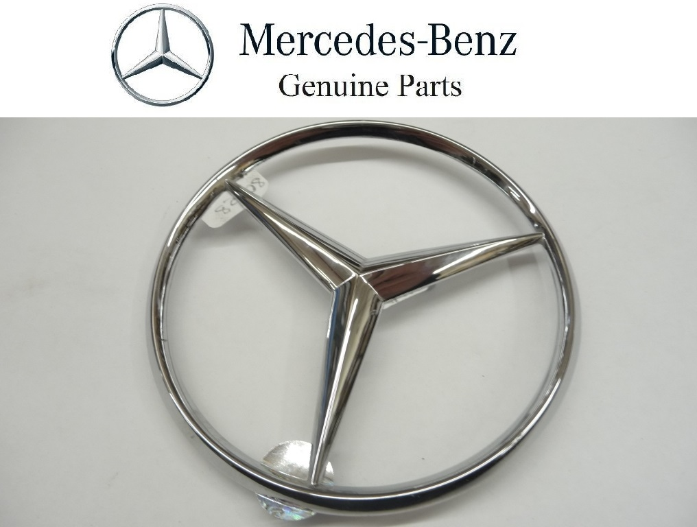 1984 1985 1986 1987 1988 1989 1990 1991 1992 1993 1994 1995 Mercedes Benz W201 190D 190E E320 E420 Rear Trunk Lid Emblem Star Badge 2017580058 OEM OE