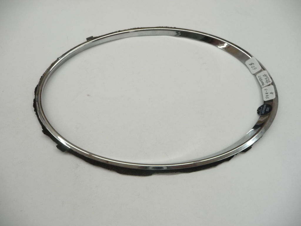 2013 2014 2015 2016 2017 2018 Bentley Flying Spur Left Driver Side Headlight Outer Chrome Ring Trim 4W0807823A OEM OE
