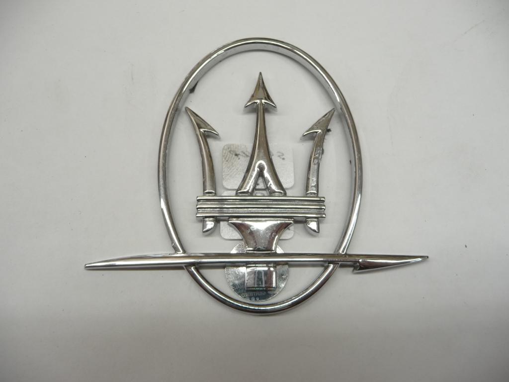 2004 2005 2006 2007 2008 2009 2010 2011 2012 2013 2014 2015 2016 2017 Maserati GranTurismo Quattroporte GT QP Right Passenger Side Emblem 67861400  - Used Auto Parts Store | LA Global Parts