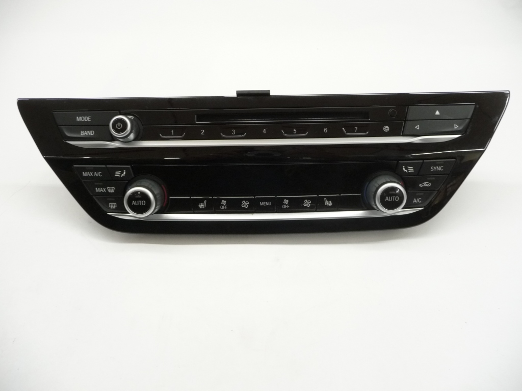 2018 BMW G30 G31 AC Heater Climate Control Panel 64116826846 ; 6826846 ; 64116826846-01 OEM OE