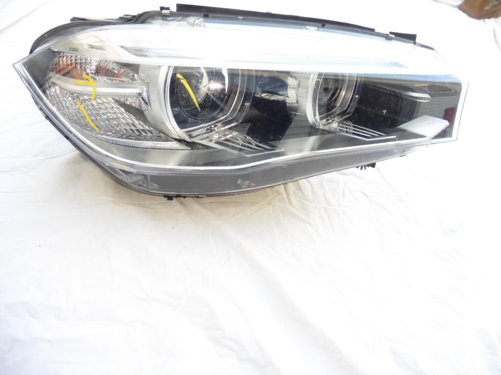 2014 2015 2016 BMW F15 F16 X5 X6 Right Passenger HID Xenon Headlight 63117317110; 7410682 OEM OE