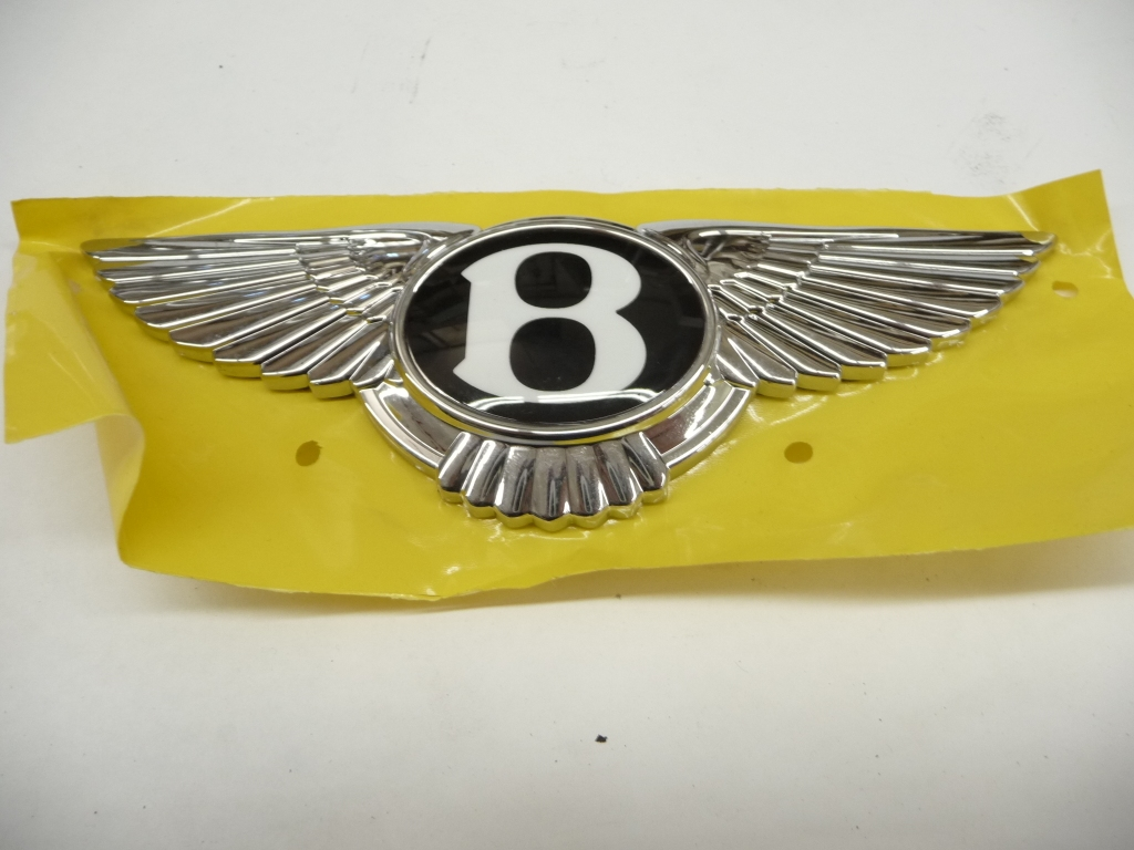 2015 2016 2017 2018 Bentley Bentayga Front Grille Upper Emblem Wings 36A853621 OEM OE