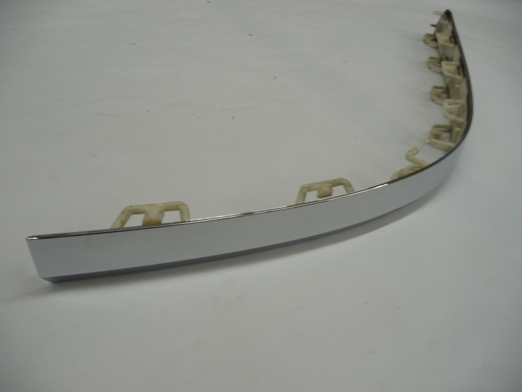 2016 2017 2018 Bentley Bentayga Rear Bumper Left Chrome Garnish Moulding Trim 36A807723 OEM OE